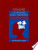 Concise Learning And Memory Book PDF