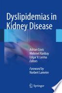 Dyslipidemias In Kidney Disease Book PDF
