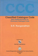 Classified Catalogue Code