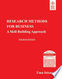 Research Methods For Business: A Skill Building Approach, 4Th Ed