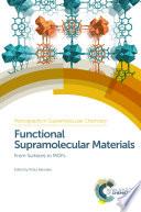Functional Supramolecular Materials Book PDF