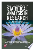 An Introduction to Statistical Analysis in Research, Optimized Edition