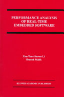 Performance Analysis of Real Time Embedded Software