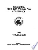 Proceedings - Offshore Technology Conference  , Volume 1;Volume 28,Parte 1