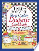 Fix It and Forget It Slow Cooker Diabetic Cookbook Book PDF