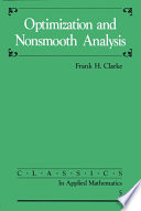 Optimization and Nonsmooth Analysis