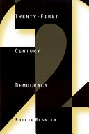 Twenty-First Century Democracy