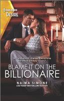 Blame It on the Billionaire [Pdf/ePub] eBook