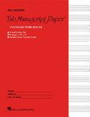 Guitar Tablature Manuscript Paper   Wire Bound