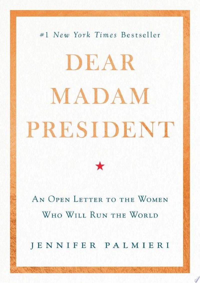 Dear Madam President banner backdrop