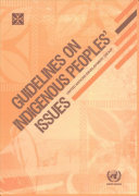 Guidelines on Indigenous Peoples' Issues