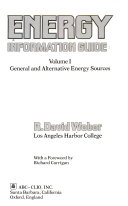 Energy Information Guide  General and alternative energy sources Book