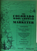 The Colorado Wool Grower and Marketer
