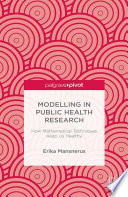 Modelling in Public Health Research
