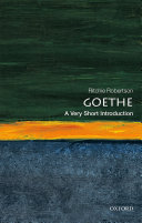 Goethe  A Very Short Introduction