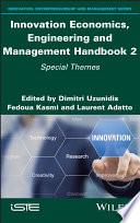 Innovation Economics Engineering And Management Handbook 2