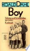 Boy  : Schönes und Schreckliches aus meiner Kinderzeit