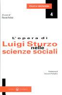 L'opera di Luigi Sturzo nelle scienze sociali