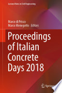 Proceedings Of Italian Concrete Days 2018 Book PDF