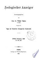 Journal Of Comparative Zoology