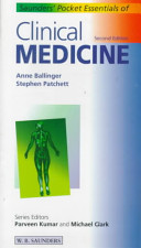 Cover of Saunders' Pocket Essentials of Clinical Medicine