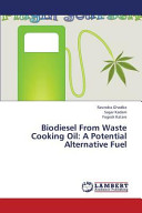 Biodiesel from Waste Cooking Oil