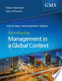 Introducing Management in a Global Context