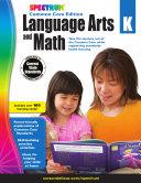 Spectrum Language Arts and Math, Grade K