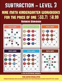 Numbers Workbook  Kindergarten Subtraction Taking Away Level 3