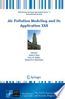 Air Pollution Modeling And Its Application Xxii Book PDF