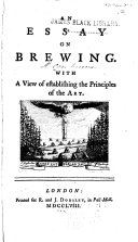 An Essay on Brewing