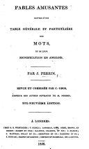 Fables amusantes ... Revue et corrigée par C. Gros ... Dix-neuvième édition