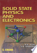 Solid State Physics and Electronics