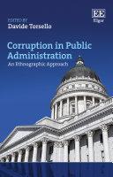Corruption in Public Administration [Pdf/ePub] eBook