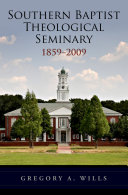 Southern Baptist Seminary 1859-2009 Book