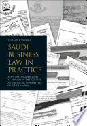 Saudi Business Law in Practice Book