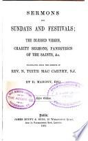 Sermons for Sundays and Festivals