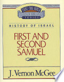 Thru The Bible Vol 12 History Of Israel 1 And 2 Samuel