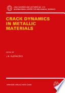 Crack Dynamics in Metallic Materials