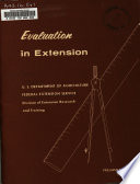 Evaluation in Extension Book