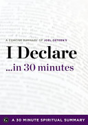 I Declare    in 30 Minutes Book