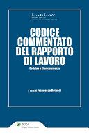 Codice commentato del rapporto di lavoro