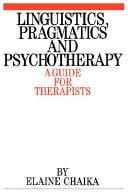 Linguistics  Pragmatics and Psychotherapy