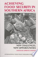Achieving Food Security in Southern Africa