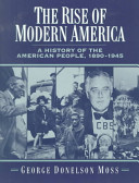 The Rise of Modern America