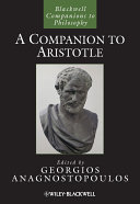 A Companion to Aristotle