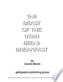 The Best of the Utah Bed and Breakfast Book