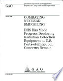 Combating Nuclear Smuggling Book