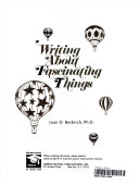 Writing About Fascination Things Book
