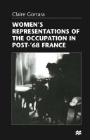 Pdf Women's Representations of the Occupation in Post-'68 France Telecharger